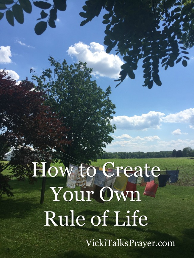 How to Create Your Own Rule of Life