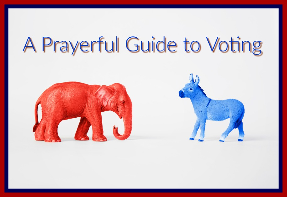 A Prayerful Guide to Voting Vicki Talks Prayer
